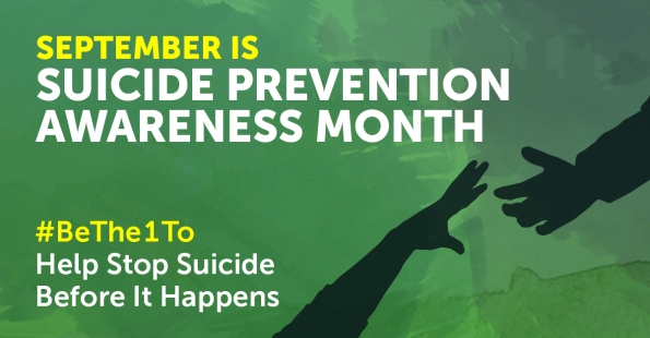 Image result for suicide prevention month 2018