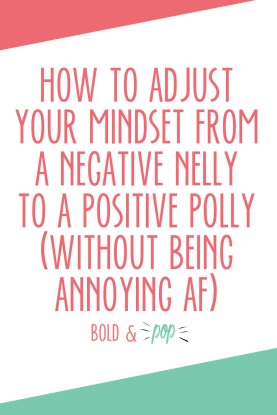 Image result for don't be a negative nelly