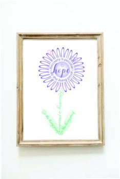 recovery purple brown frame