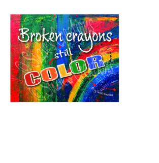 broken crayons - 1